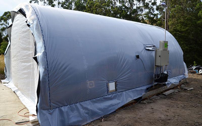 Solarkilns Mini Pro side view